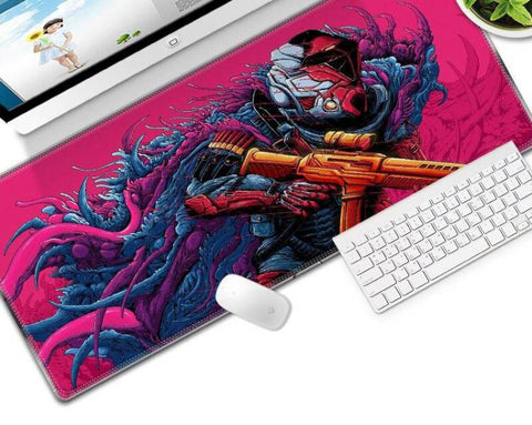 Tapis de Souris XXL Soldat Futuriste | CrazyWorth