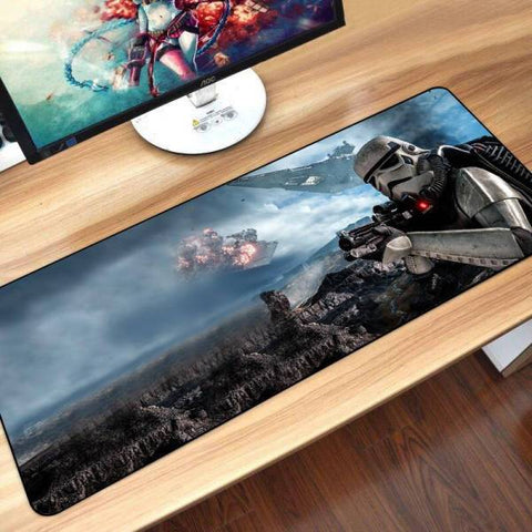 Tapis de Souris XXL Stormtrooper Commando | CrazyWorth
