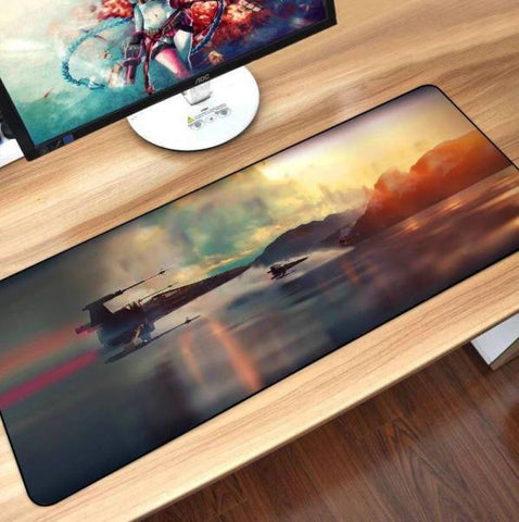 Tapis de Souris XXL X-Wing Starfighter | CrazyWorth