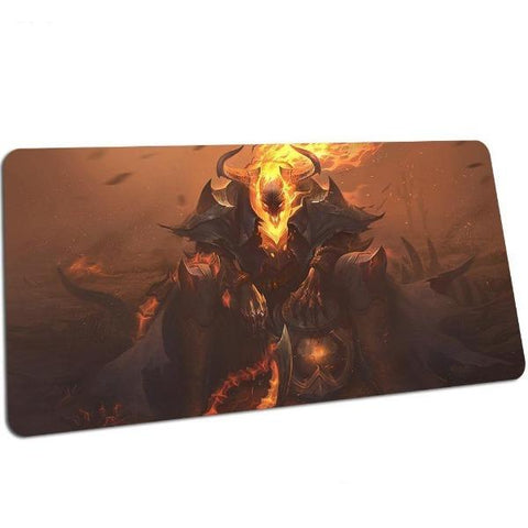 tapis de souris gamer league of legend