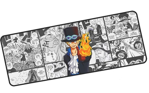 tapis de souris anime one piece