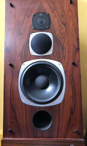 Castle Acoustic Conway 2 hifi loudspeakers vintage 70's reference