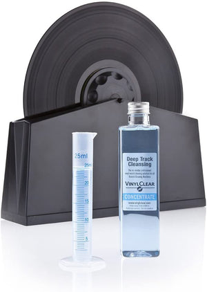Record Machine Cleaning Fluid Concentrate. Make your LP Records Sound Like New With The Industry Standard Vinyl Record Cleaner