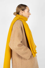 Load image into Gallery viewer, Mustard ultra soft classic scarf2