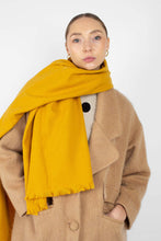 Load image into Gallery viewer, Mustard ultra soft classic scarf5