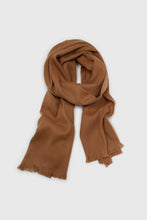 Load image into Gallery viewer, Camel ultra soft classic scarf1