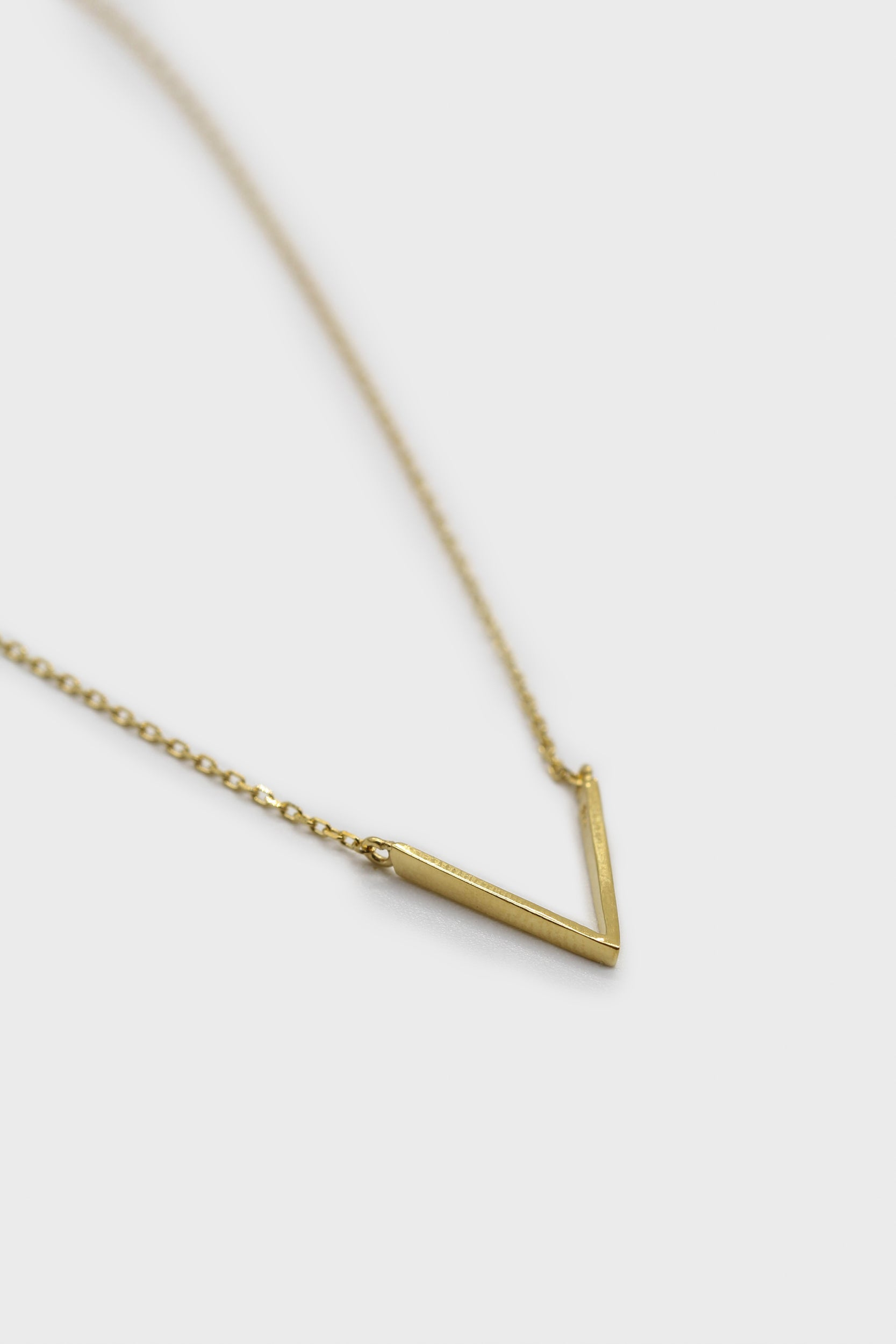 Charm necklace - Gold plunging V1