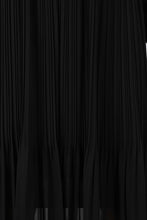 Load image into Gallery viewer, Black silky micro pleat maxi skirt5