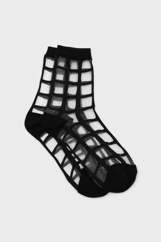 Black sheer grid socks1sx