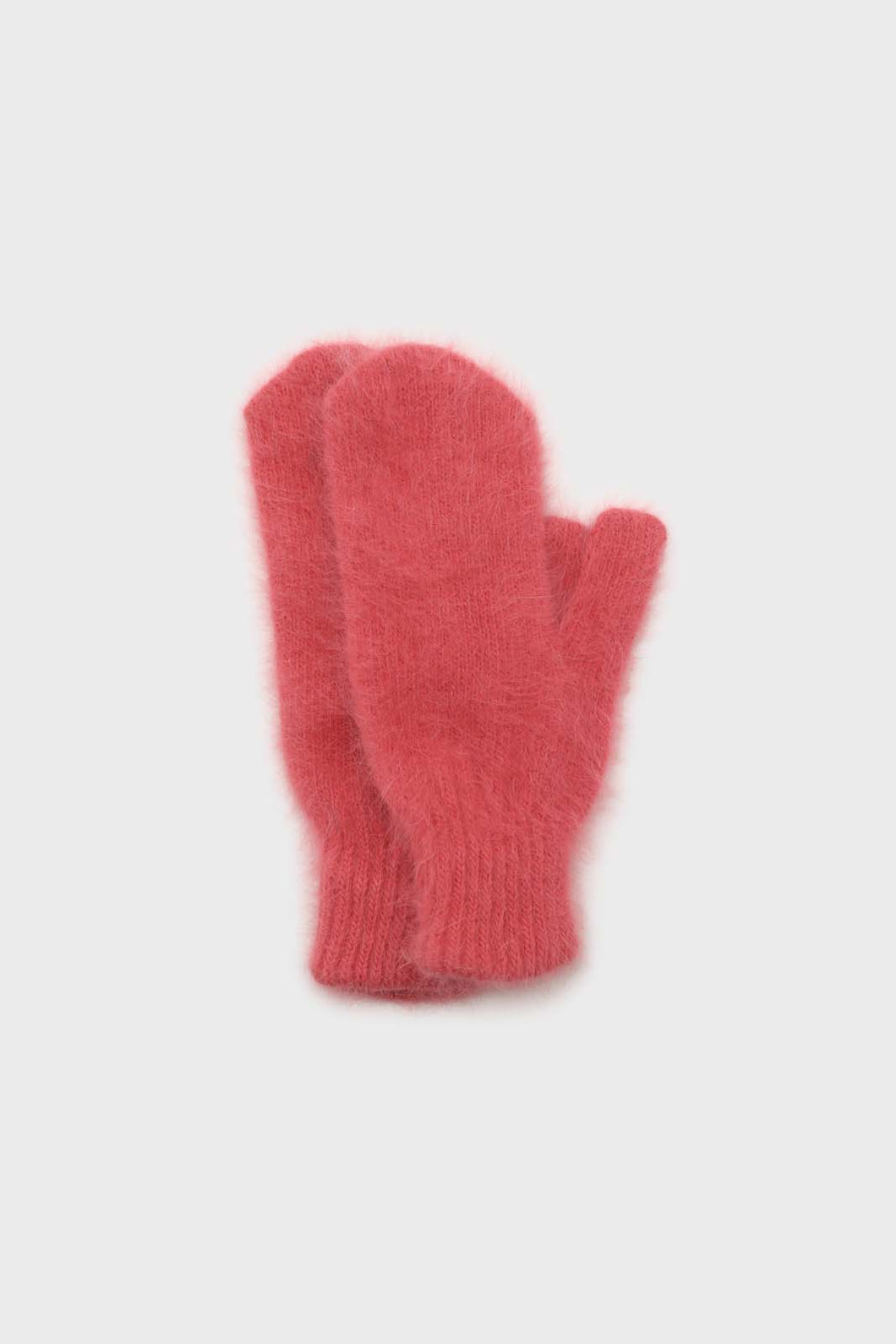 Dusty rose mohair mittens1sx