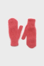 Load image into Gallery viewer, Dusty rose mohair mittens3