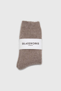 Cocoa angora smooth socks2