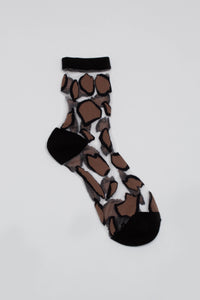 Black large leopard sheer socks_PFFBA3