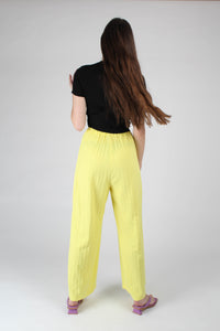 20770_Bright yellow herringbone linen wide trousers_MFBBA1