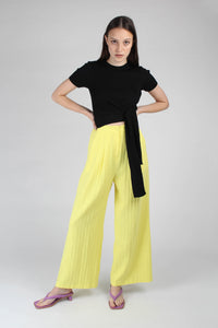 20770_Bright yellow herringbone linen wide trousers_MFFBA1