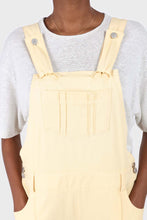 Load image into Gallery viewer, Pale yellow front patch pocket jumpsuit6