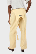 Load image into Gallery viewer, Pale yellow front patch pocket jumpsuit7