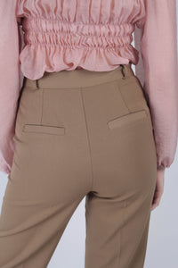21645_Dark beige side pocket tailored trousers_MCBBA2