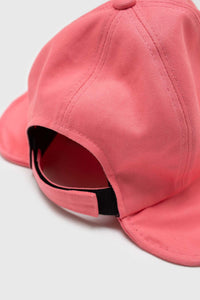 Pink velcro cotton bucket hat3