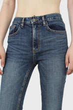 Load image into Gallery viewer, Mid blue skinny jeans-53541sx