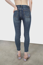 Load image into Gallery viewer, Mid blue skinny jeans-53544