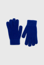 Load image into Gallery viewer, Cobalt blue mohair gloves2