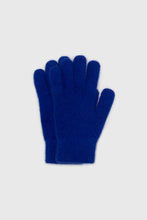 Load image into Gallery viewer, Cobalt blue mohair gloves3
