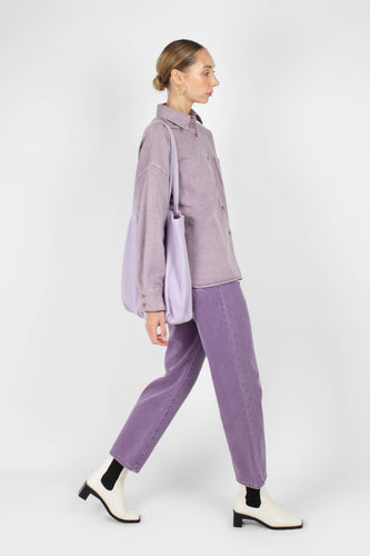 Washed violet mom jeans - 2091sx