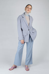 22623_Baby blue sheer wrinkled long sleeved top_MFFBA1