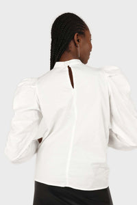 Ivory Side shirring long sleeved top8