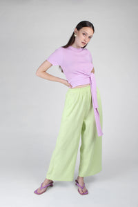 23188_Pale purple tie front diagonal ribbed knit top_MFFBA2