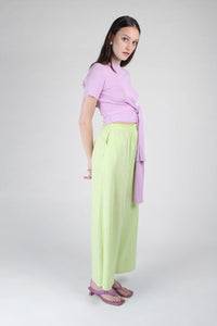 23188_Pale purple tie front diagonal ribbed knit top_MFSBA1
