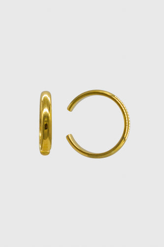Gold simple slim ear cuff - 8.5mm1sx