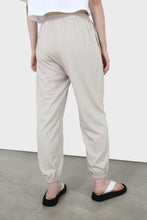 Load image into Gallery viewer, Beige loose fit sweatpants - set4