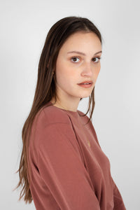 Rust high neck perfect long sleeved tee5