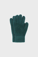 Load image into Gallery viewer, Teal mohair gloves1sx