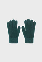 Load image into Gallery viewer, Teal mohair gloves2