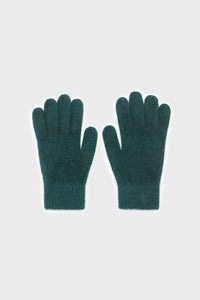 Teal mohair gloves2