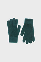 Load image into Gallery viewer, Teal mohair gloves3