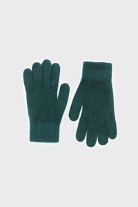 Teal mohair gloves3