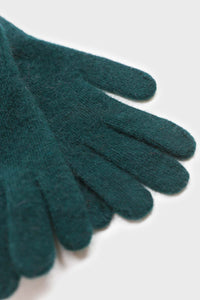 Teal mohair gloves4