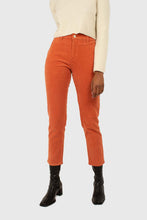 Load image into Gallery viewer, Dusty orange corduroy trousers1