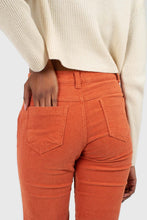 Load image into Gallery viewer, Dusty orange corduroy trousers3