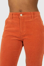 Load image into Gallery viewer, Dusty orange corduroy trousers5