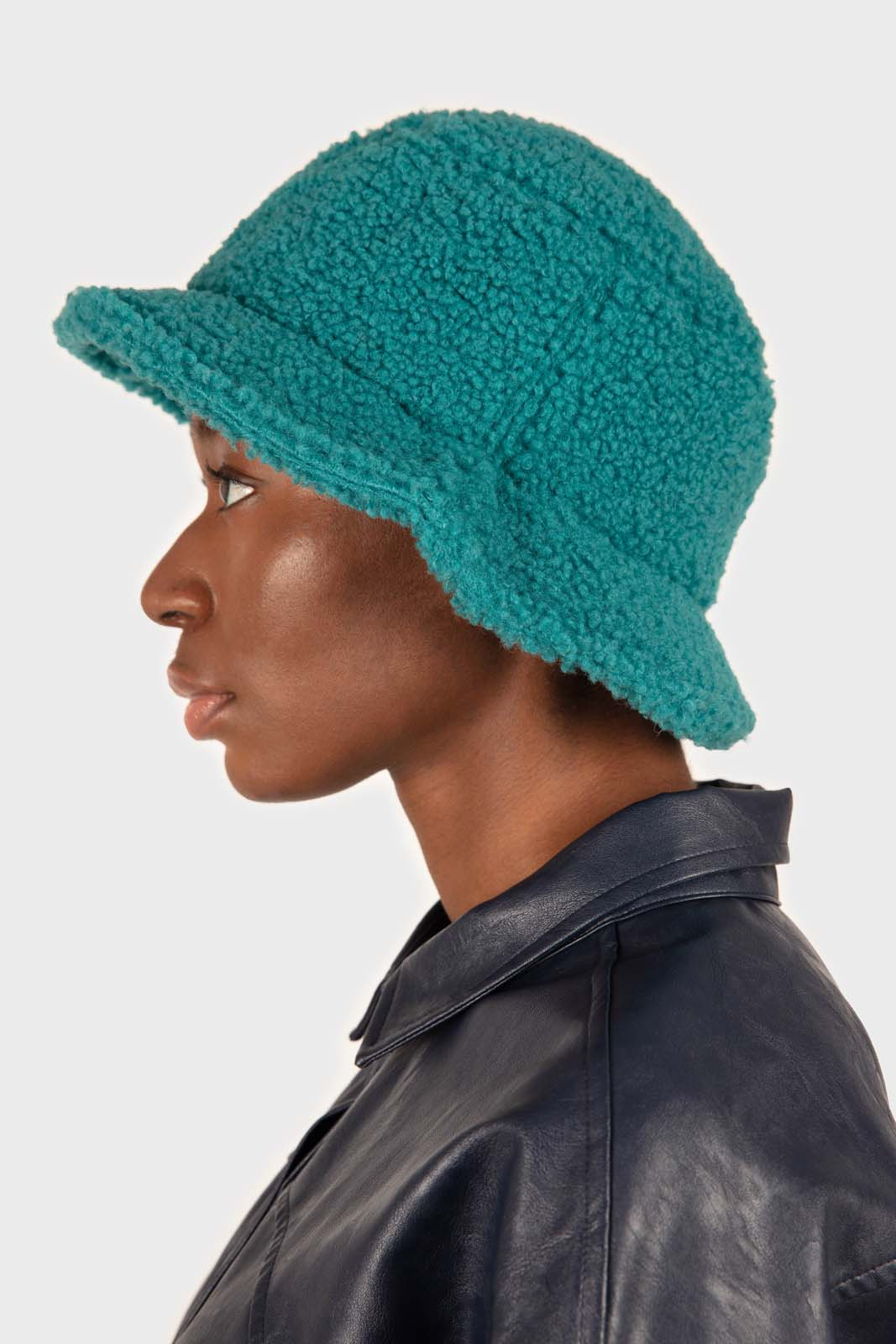 Teal teddy bucket hat2