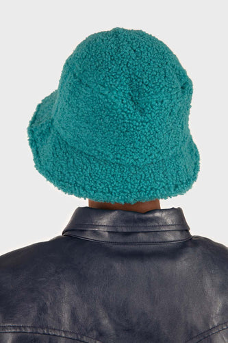 Teal teddy bucket hat3