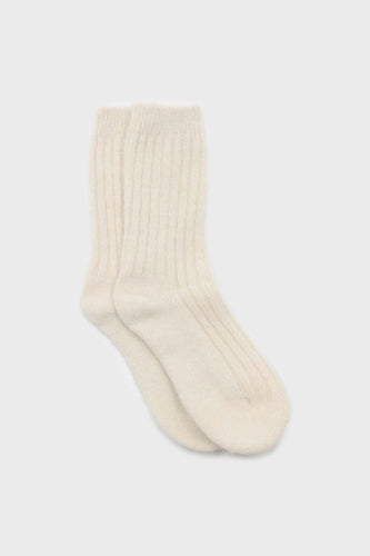 Ivory large ribbed angora socks1sx