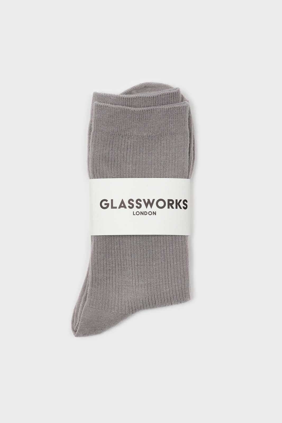 Light grey merino wool socks1