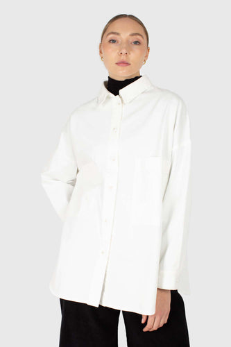 Ivory oversized shirt jacket3