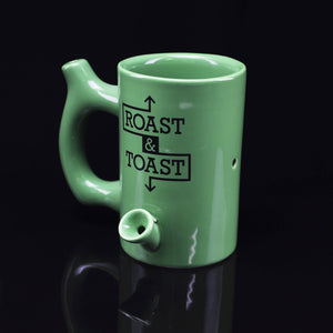 Green Mug Pipe - Flight Zone